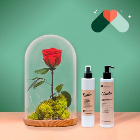 Rosa Eterna y Kit Cosmética